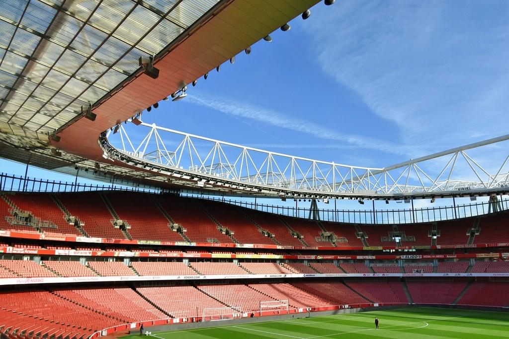 Emirates Stadium, home of Arsenal FC.