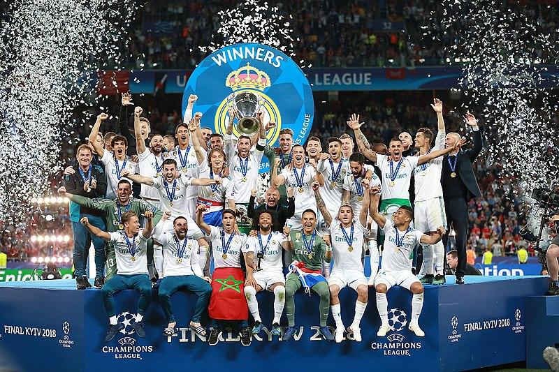 Real Madrid, 2018 winners